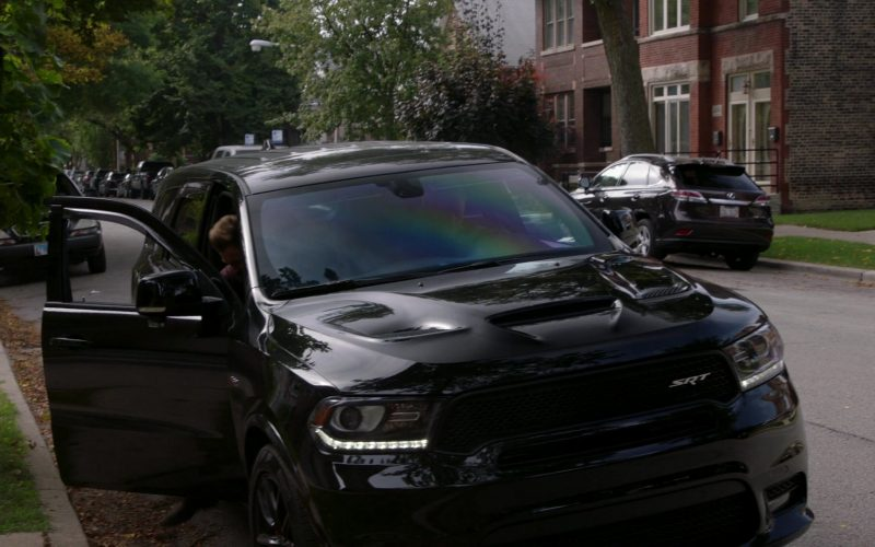 Dodge Durango SRT Black SUV in Chicago P.D. Season 7 Episode 8 No Regrets