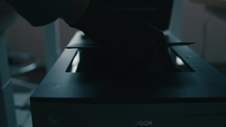 "Epson Scanner in Mr. Robot Season 4 Episode 5 ""405 Method Not Allowed"" (2019) - TV Show Product Placement"