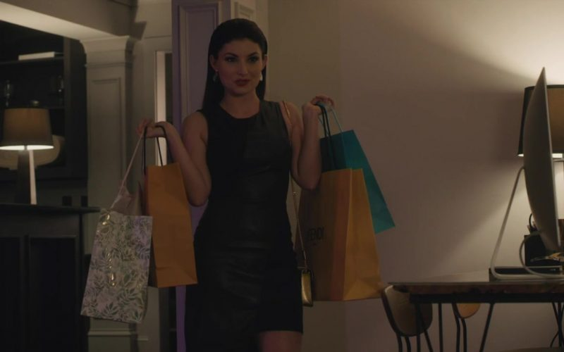 Fendi Yellow Paper Bag in Ambitions Season 1 Episode 12