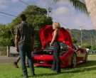 Ferrari Convertible Car Driven by Jay Hernandez as Thomas in Magnum P.I. Season 2 Episode 8 (10)