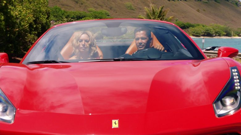 Ferrari Convertible Car Driven by Jay Hernandez as Thomas in Magnum P.I. Season 2 Episode 8 (12)