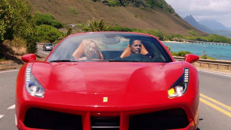 Ferrari Convertible Car Driven by Jay Hernandez as Thomas in Magnum P.I. Season 2 Episode 8 (13)