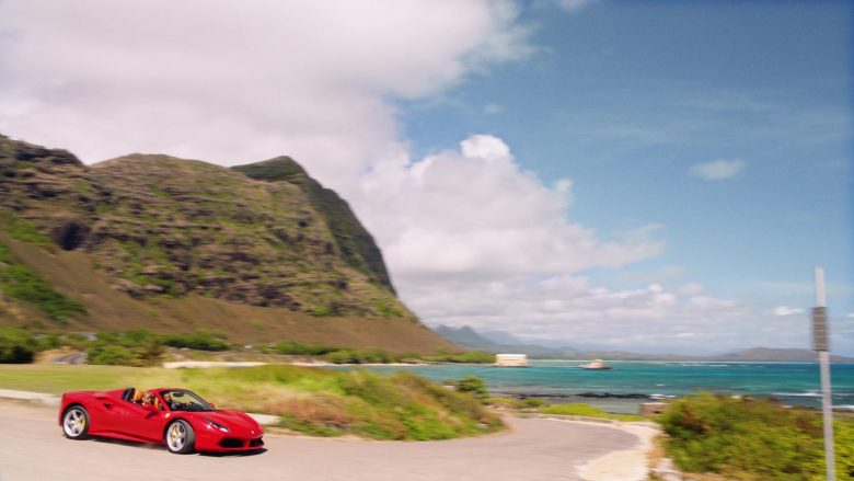 Ferrari Convertible Car Driven by Jay Hernandez as Thomas in Magnum P.I. Season 2 Episode 8 (14)