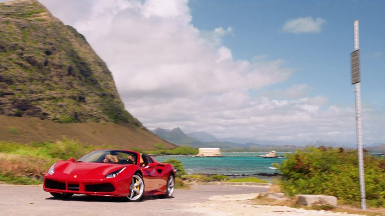 Ferrari Convertible Car Driven by Jay Hernandez as Thomas in Magnum P.I. Season 2 Episode 8 (16)