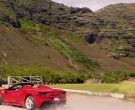 Ferrari Convertible Car Driven by Jay Hernandez as Thomas in Magnum P.I. Season 2 Episode 8 (17)