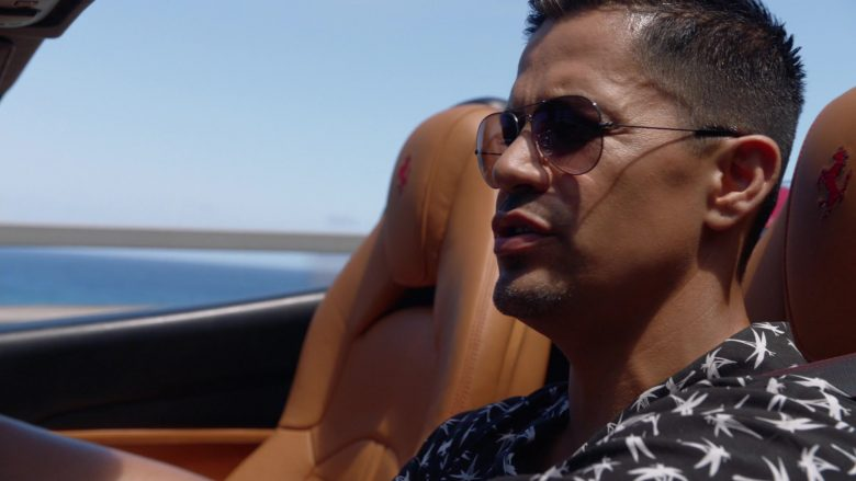 Ferrari Convertible Car Driven by Jay Hernandez as Thomas in Magnum P.I. Season 2 Episode 8 (2)