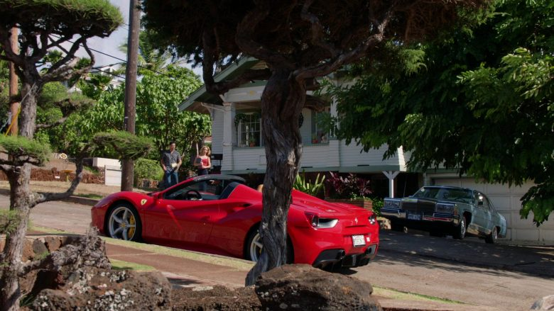 Ferrari Convertible Car Driven by Jay Hernandez as Thomas in Magnum P.I. Season 2 Episode 8 (5)