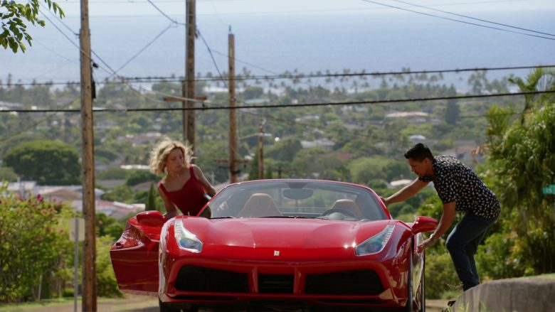Ferrari Convertible Car Driven by Jay Hernandez as Thomas in Magnum P.I. Season 2 Episode 8 (6)