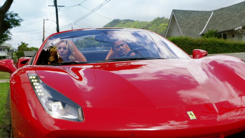 Ferrari Convertible Car Driven by Jay Hernandez as Thomas in Magnum P.I. Season 2 Episode 8 (7)