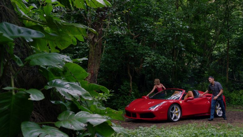 Ferrari Convertible Car Driven by Jay Hernandez as Thomas in Magnum P.I. Season 2 Episode 8 (8)