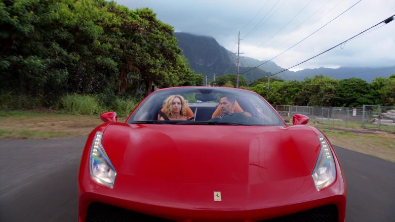 Ferrari Convertible Car Driven by Jay Hernandez as Thomas in Magnum P.I. Season 2 Episode 8 (9)