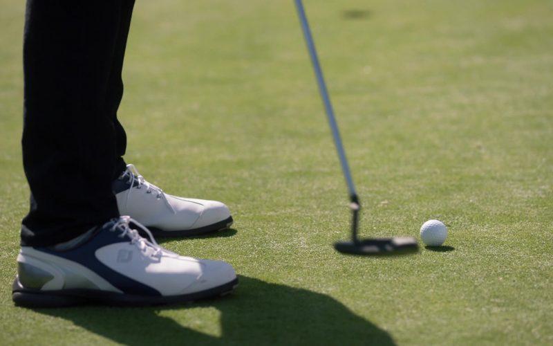 FootJoy Golf Shoes in Single Parents Season 2 Episode 7