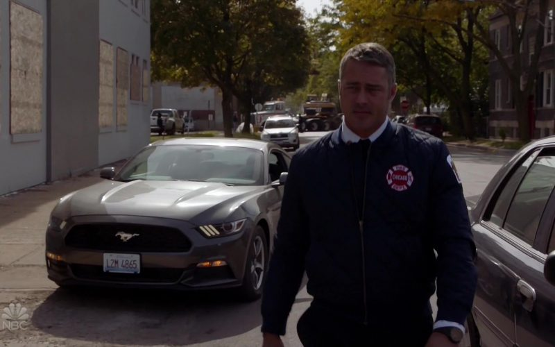 Ford Mustang Car Used by Taylor Kinney as Kelly Severide in Chicago Fire Season 8 Episode 9 (1)
