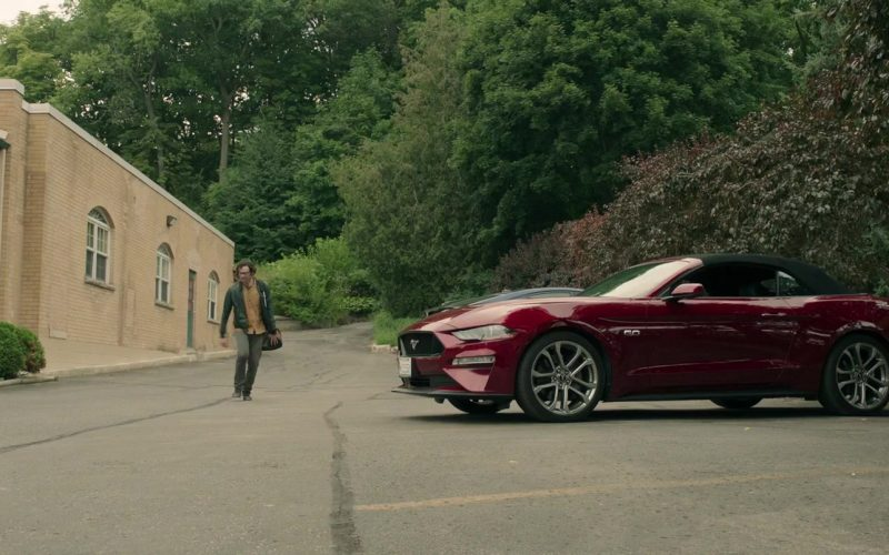 Ford Mustang GT Convertible Car in It Chapter Two (1)