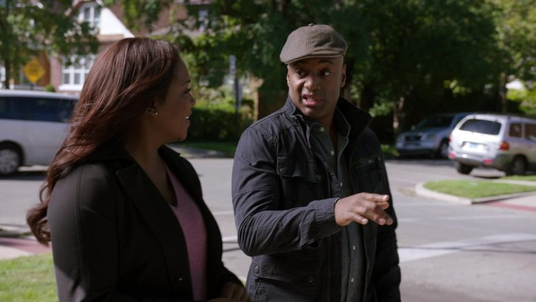 G-Star Men's Jacket in Chicago Med Season 5 Episode 7 (2)
