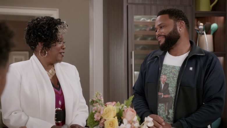 "G-Star RAW Jacket Worn by Anthony Anderson in Black-ish Season 6 Episode 8 ""O Mother Where Art Thou?"" (2019) TV Show"