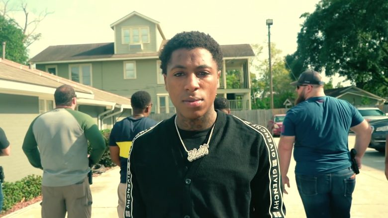 Givenchy Cardigan Worn by NBA YoungBoy in Lost Motives (1)