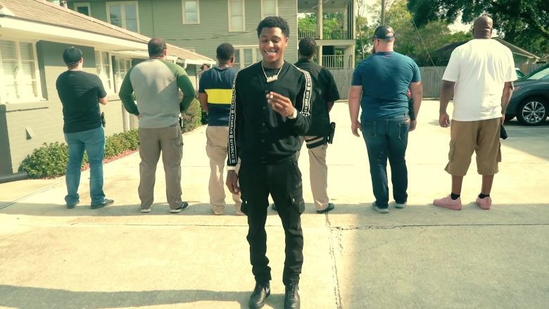 Givenchy Cardigan Worn by NBA YoungBoy in Lost Motives (3)
