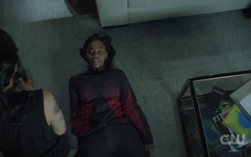 Givenchy Paris Women's Jacket in Black Lightning Season 3 Episode 6