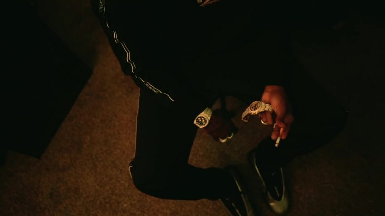 Givenchy Sweatshirt and Pants Worn by NBA YoungBoy in Lost Motives (2019) - Official Music Video Product Placement
