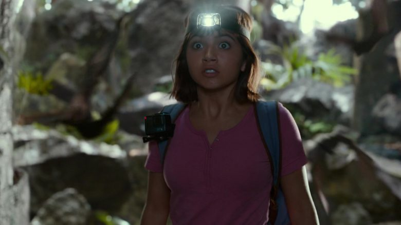 GoPro Action Camera Used by Isabela Moner in Dora and the Lost City of Gold (2019) - Movie Product Placement