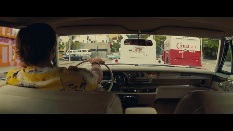 Good Humor Ice Cream and Carnation Milk Trucks in Once Upon a Time … in Hollywood