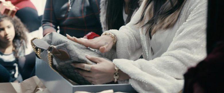 Gucci Handbag Held by Jennifer Lopez in Hustlers (2019) Movie