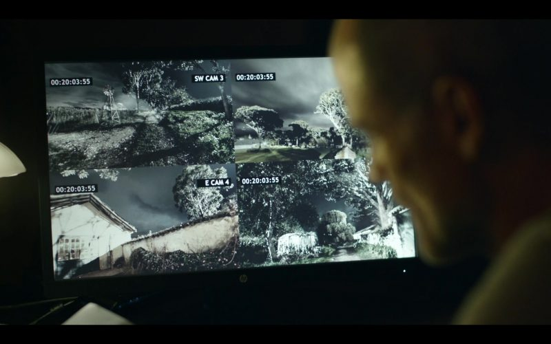 HP Monitor Used by Michael Kelly in Tom Clancy's Jack Ryan Season 2 Episode 7