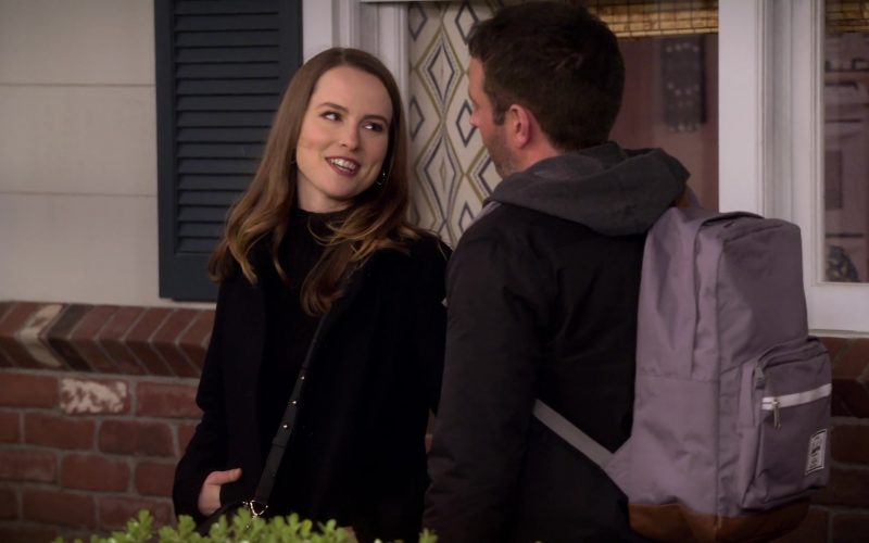 Herschel Backpack Used by Brent Morin as Matt in Merry Happy Whatever Season 1 Episode 1 (2)