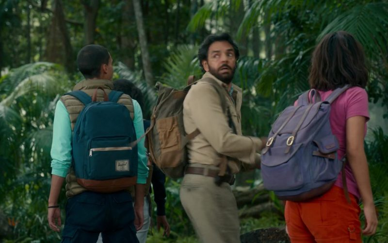 Herschel Backpack Used by Jeff Wahlberg in Dora and the Lost City of Gold (3)