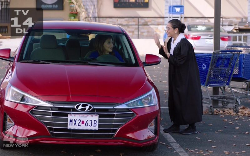 Hyundai Red Car in Superstore Season 5 Episode 6 Trick-or-Treat