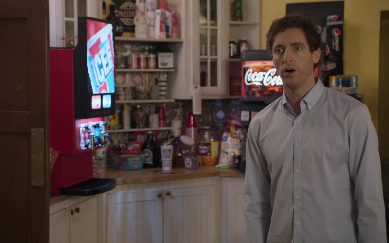 Icee, Coca-Cola and Pepsi in Silicon Valley Season 6 Episode 2