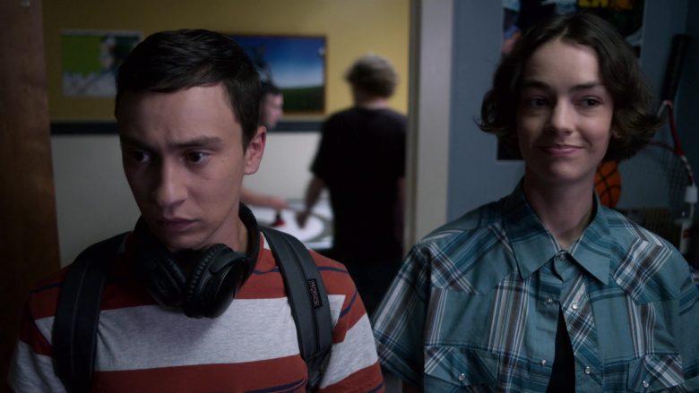 JanSport Backpack Used by Keir Gilchrist as Sam Gardner in Atypical Season 3 Episode 2 (2)