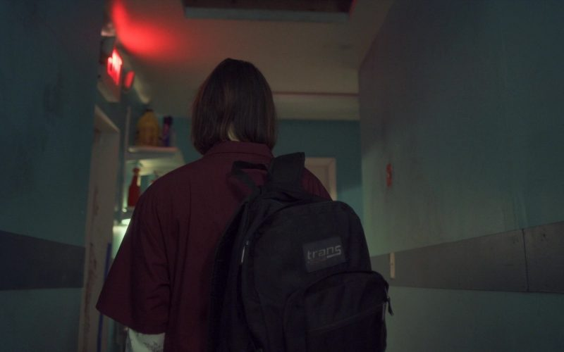 JanSport Trans Backpack Used by Tilda Cobham-Hervey in Burn