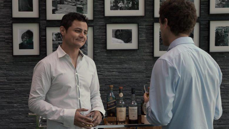 Johnnie Walker Blue Label Whisky, Oban, Talisker in Silicon Valley Season 6 Episode 2