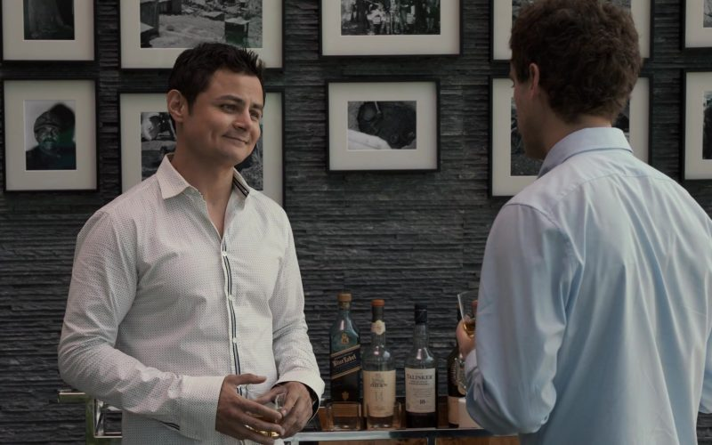 Johnnie Walker Blue Label Whisky, Oban, Talisker in Silicon Valley Season 6 Episode 2