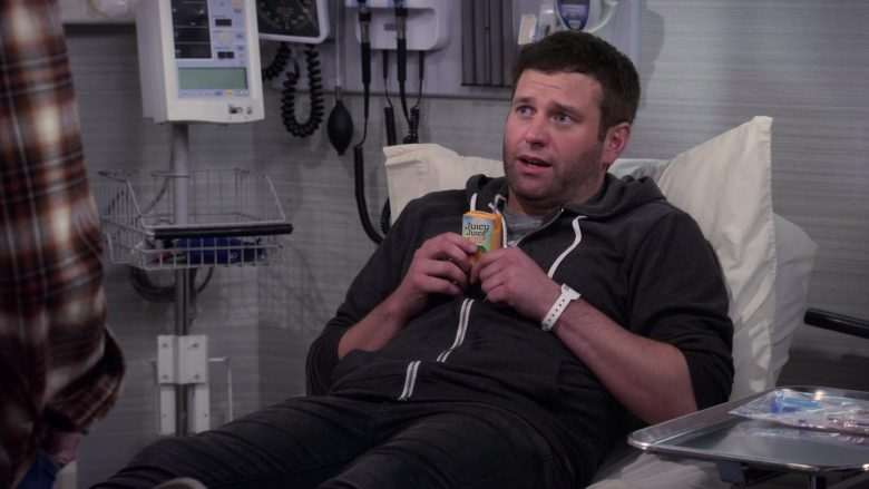 "Juicy Juice Enjoyed by Brent Morin as Matt in Merry Happy Whatever Season 1 Episode 1 ""Welcome, Matt"" (2019) TV Show"