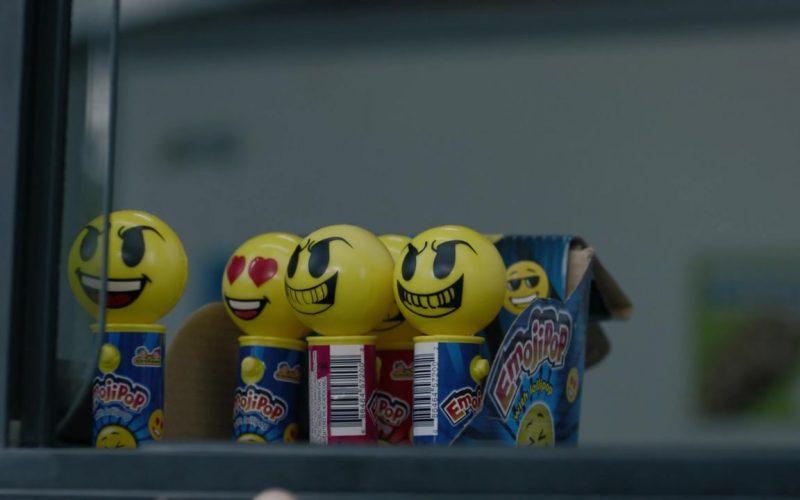 Kidsmania Laser Pop Emoji Pop with Lollipops in Mr. Mercedes Season 3 Episode 10