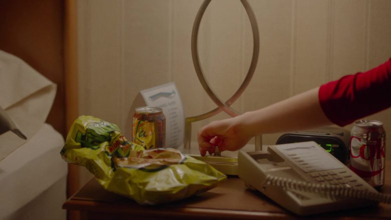 LaCroix Sparkling Water, Diet Coke and Funyuns in Room 104 Season 3 Episode 9 (2)