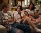 LaCroix Sparkling Water Enjoyed by Graham Rogers as Evan Chapin in Atypical Season 3 Episode 3 (2)