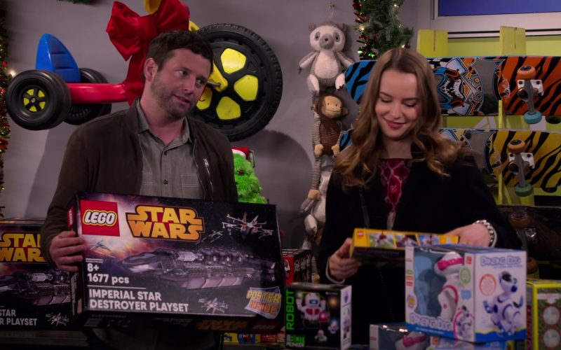 Lego Star Wars Held by Brent Morin as Matt in Merry Happy Whatever Season 1 Episode 4 (2)