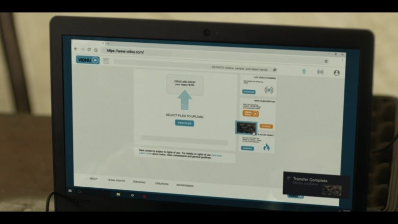 "Lenovo Laptop in Tom Clancy's Jack Ryan Season 2 Episode 8 ""Strongman"" (2019) - TV Show Product Placement"