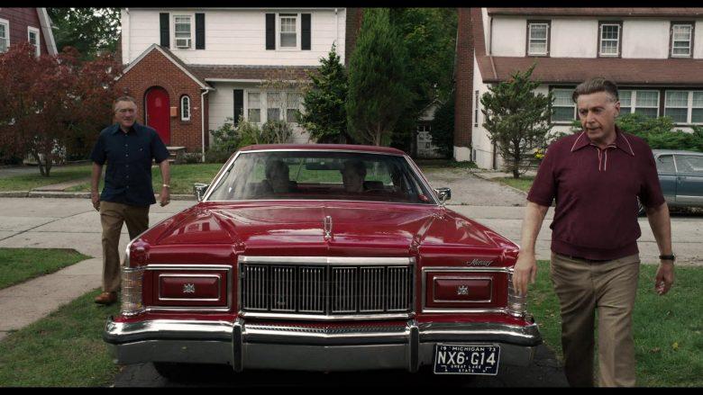 Lincoln Mercury Red Car in The Irishman (5)