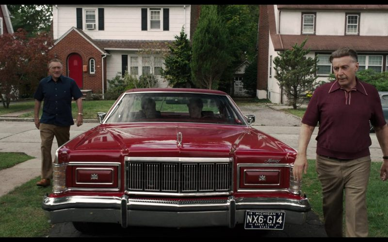 Lincoln Mercury Red Car in The Irishman (5)