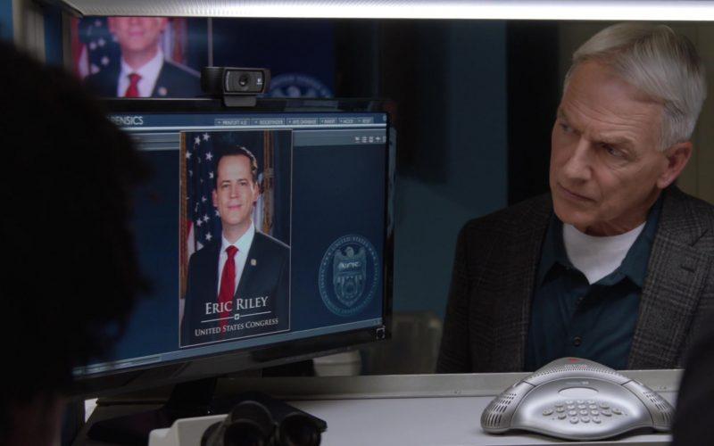 Logitech Webcam in NCIS Season 17 Episode 7 No Vacancy