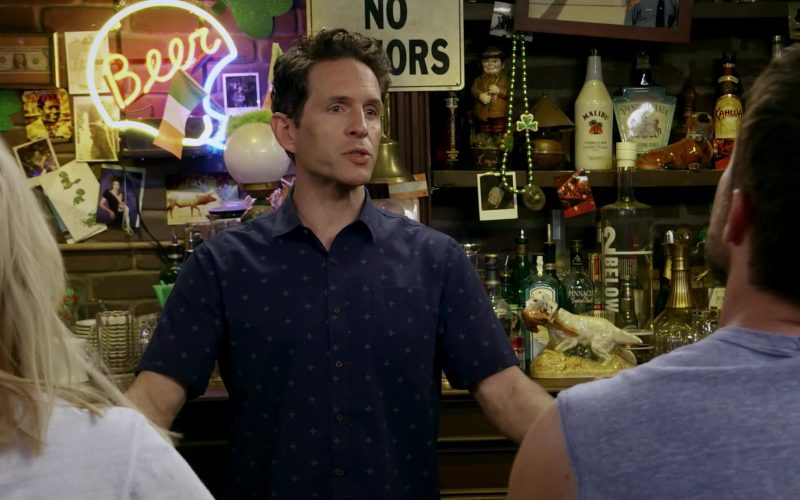 Malibu Liqueur, Kahlúa, 42 Below Vodka in It's Always Sunny in Philadelphia Season 14 Episode 7