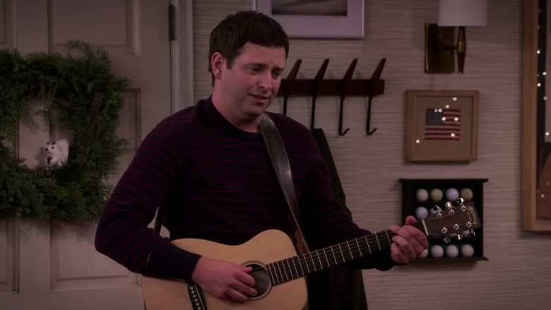"""Martin Guitar Used by Brent Morin as Matt in Merry Happy Whatever Season 1 Episode 6 """"Merry Ex-Mas"""" (2019) TV Show"""