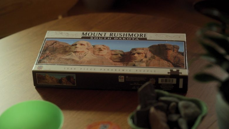 "MasterPieces National Parks Panoramic Jigsaw Puzzle, Mount Rushmore, South Dakota, Photographs by Christopher Gjevre in Dollface Season 1 Episode 2 ""Homebody"" (2019) - TV Show Product Placement"