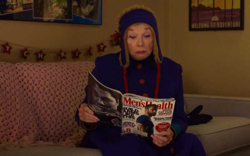 Men's Health Magazine Held by Shirley MacLaine in Noelle (1)