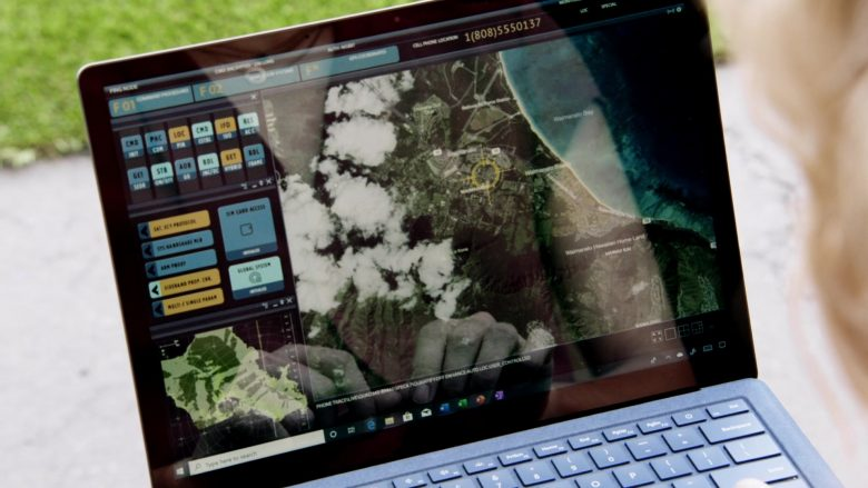 "Microsoft Surface Laptop Used by Perdita Weeks in Magnum P.I. Season 2 Episode 7 ""The Man in the Secret Room"" (2019) - TV Show Product Placement"